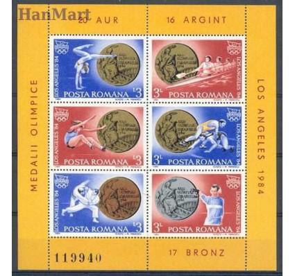 Znaczek Rumunia 1984 Mi bl 210 Czyste **