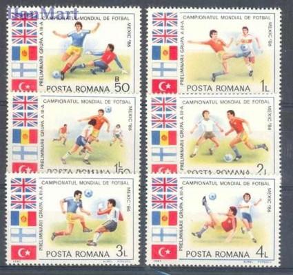 Znaczek Rumunia 1985 Mi 4193-4198 Czyste **