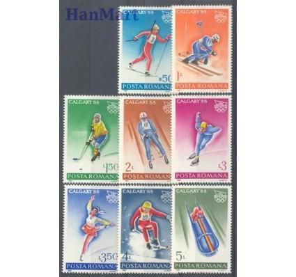 Znaczek Rumunia 1987 Mi 4418-4425 Czyste **