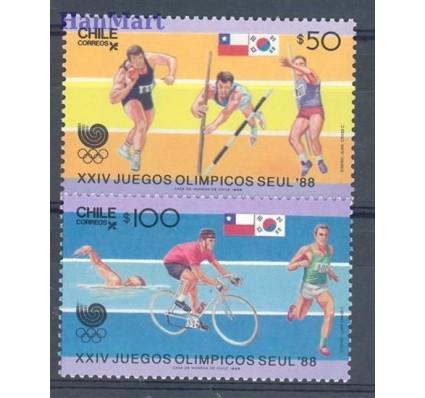 Znaczek Chile 1988 Mi 1220-1221 Czyste **