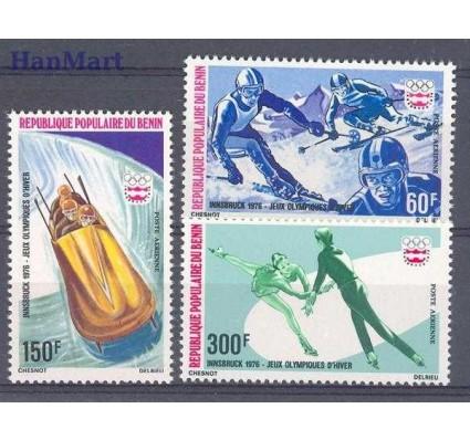 Znaczek Benin 1976 Mi 46-48 Czyste **