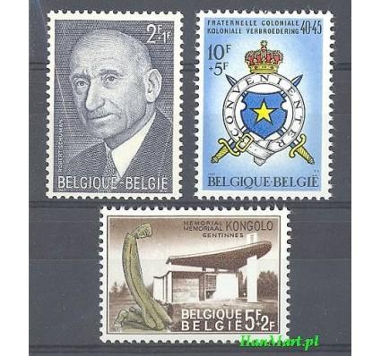 Belgia 1967 Mi 1477-1479 Czyste **