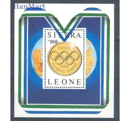 Znaczek Sierra Leone 1987 Mi bl 61 Czyste **