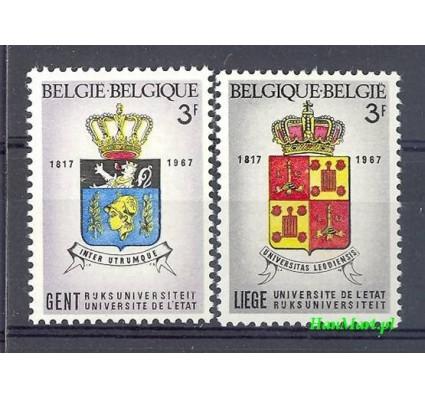 Belgia 1967 Mi 1489-1490 Czyste **