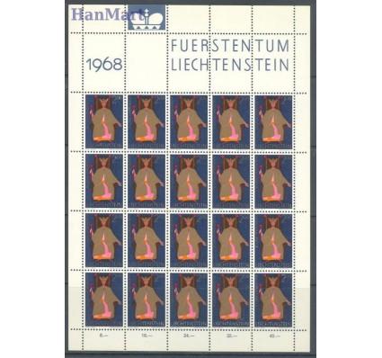 Znaczek Liechtenstein 1968 Mi ark 500-502 Czyste **