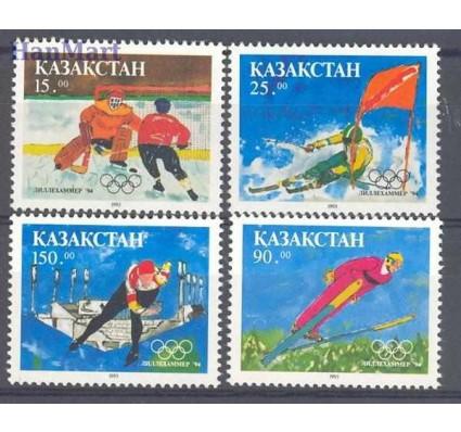 Znaczek Kazachstan 1994 Mi 37-40 Czyste **