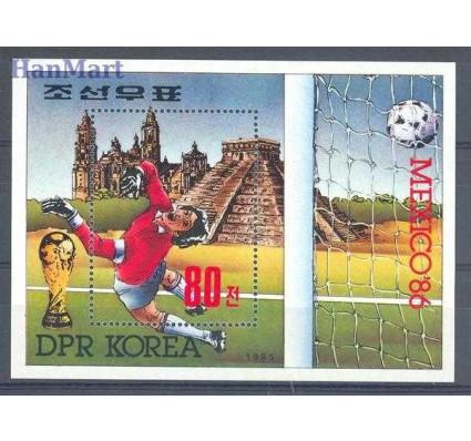 Znaczek Korea Północna 1985 Mi bl 208 Czyste **