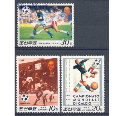 Znaczek Korea Północna 1988 Mi 2914-2916 Czyste **