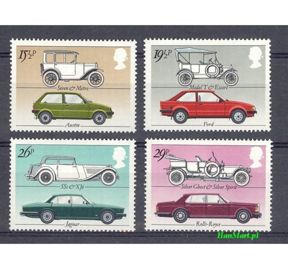 Wielka Brytania 1982 Mi 929-932 Czyste **