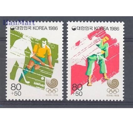 Korea Południowa 1986 Mi 1483-1484 Czyste **