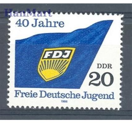 Znaczek NRD / DDR 1986 Mi 3002 Czyste **