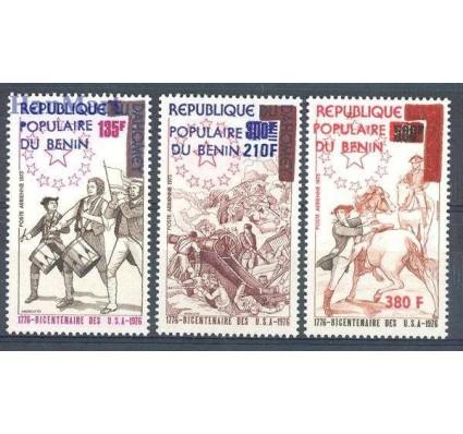 Znaczek Benin 1976 Mi 61-63 Czyste **