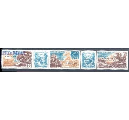 Znaczek Gabon 1976 Mi 589-591 Czyste **