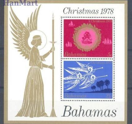 Znaczek Bahamy 1978 Mi bl 25 Czyste **