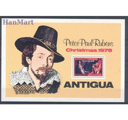 Znaczek Antigua i Barbuda 1978 Mi bl 39 Czyste **