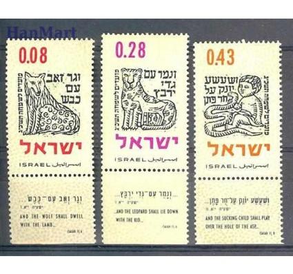 Znaczek Izrael 1962 Mi 259-261 Czyste **