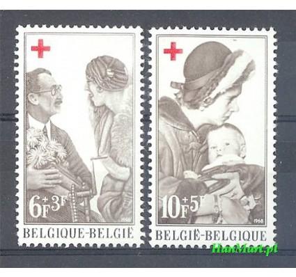 Znaczek Belgia 1968 Mi 1509-1510 Czyste **