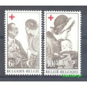 Belgia 1968 Mi 1509-1510 Czyste **