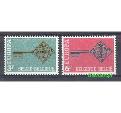 Belgia 1968 Mi 1511-1512 Czyste **