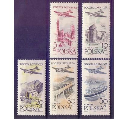 Znaczek Polska 1958 Mi 1080-1084 Fi 935-939 Czyste **