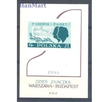 Znaczek Polska 1956 Mi bl 19 Fi bl 18 Czyste **