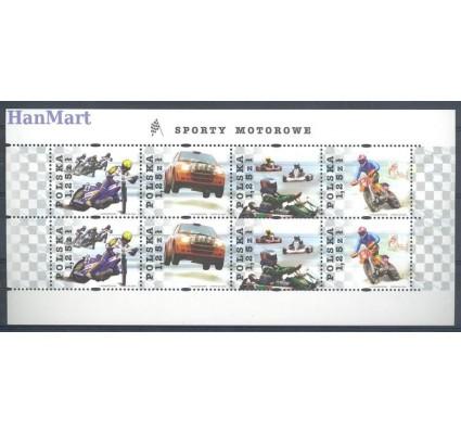 Znaczek Polska 2004 Mi ark 4150-4153 Fi ark 4000-4003II Czyste **