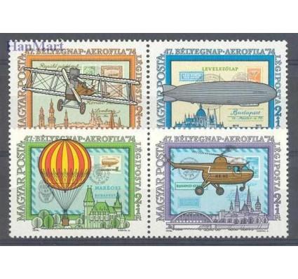 Znaczek Węgry 1974 Mi 2986-2989 Czyste **