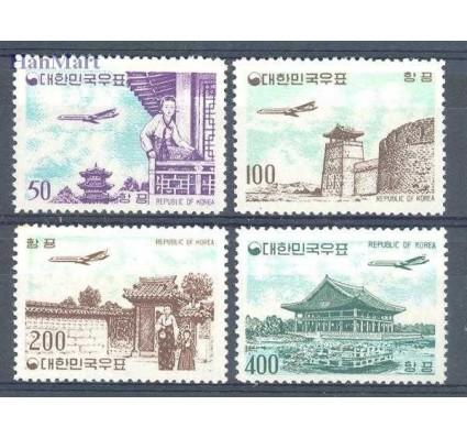 Znaczek Korea Południowa 1961 Mi 338-341 Czyste **