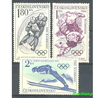 Znaczek Czechosłowacja 1964 Mi 1447-1449 Czyste **