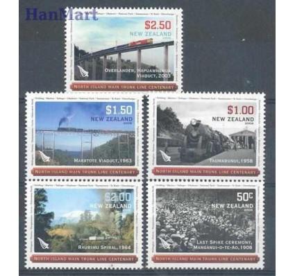 Znaczek Nowa Zelandia 2008 Mi 2543-2547 Czyste **