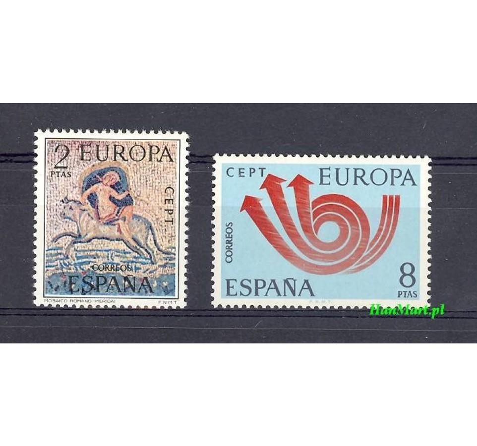 Hiszpania 1973 Mi 2020-2021 Czyste **