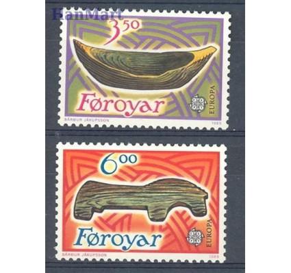 Znaczek Wyspy Owcze 1989 Mi 184-185 Czyste **