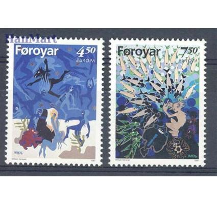 Znaczek Wyspy Owcze 1997 Mi 317-318 Czyste **