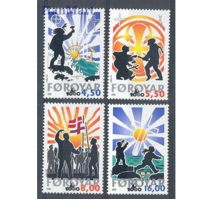 Znaczek Wyspy Owcze 2000 Mi 368-371 Czyste **