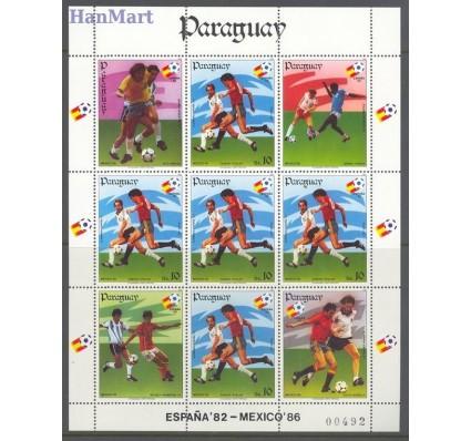 Znaczek Paragwaj 1984 Mi ark 3746 Czyste **