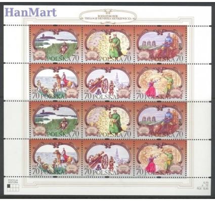 Znaczek Polska 1999 Mi ark 3755-3760a Fi ark 3607-3612I Czyste **