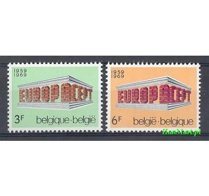 Belgia 1969 Mi 1546-1547 Czyste **