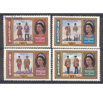 Znaczek Saint Lucia 1978 Mi 436-439 Czyste **