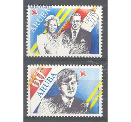 Znaczek Aruba 1987 Mi 22-23 Czyste **