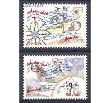 Znaczek Aruba 1990 Mi 78-79 Czyste **