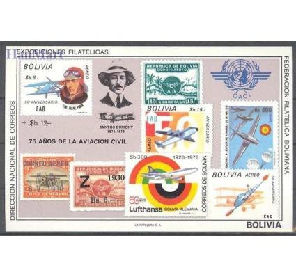 Boliwia 1979 Mi bl 82 Czyste **
