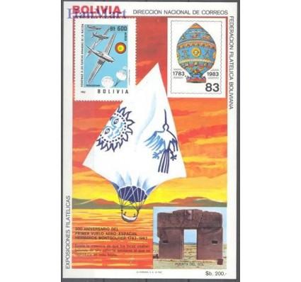 Znaczek Boliwia 1983 Mi bl 133 Czyste **