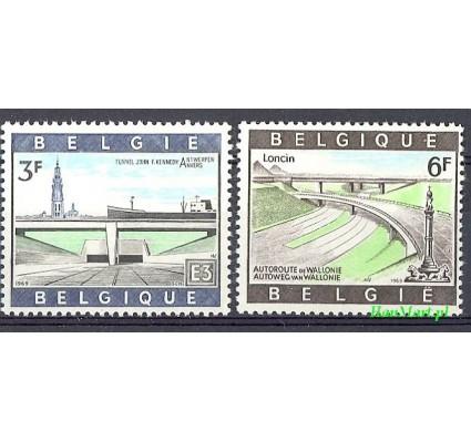 Belgia 1969 Mi 1570-1571 Czyste **