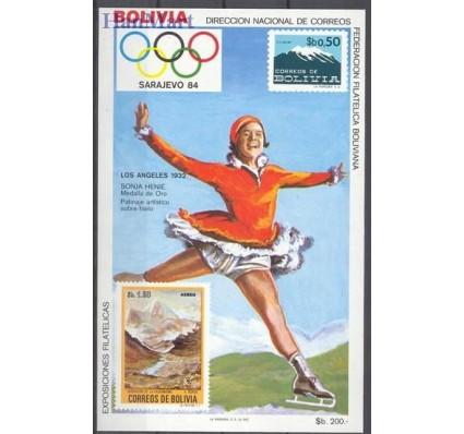 Znaczek Boliwia 1983 Mi bl 134 Czyste **
