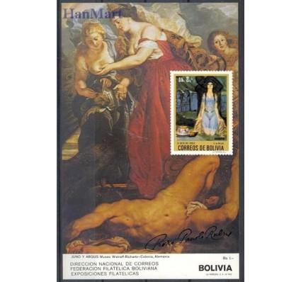Znaczek Boliwia 1987 Mi bl 163 Czyste **