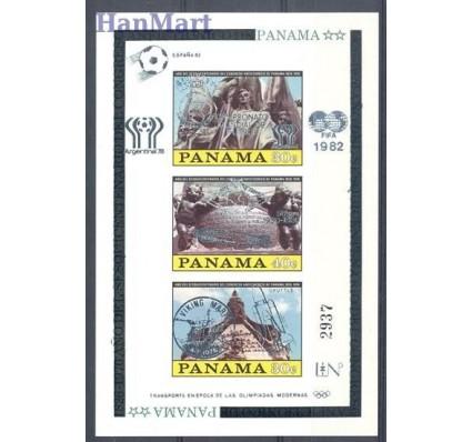 Znaczek Panama 1980 Mi bl 114 Czyste **