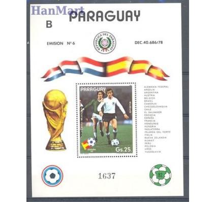 Znaczek Paragwaj 1982 Mi bl 372 Czyste **