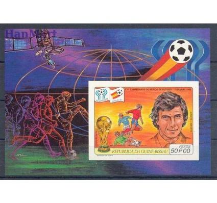 Znaczek Gwinea Bissau 1981 Mi bl 180B Czyste **