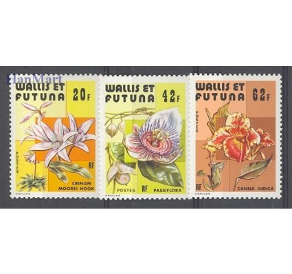 Znaczek Wallis et Futuna 1979 Mi 349-351 Czyste **