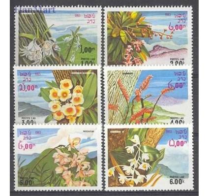 Znaczek Laos 1983 Mi 655-660 Czyste **